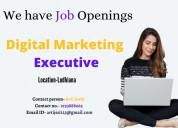 Job profile  digital marketing executive