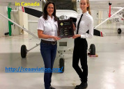 Best commercial pilot training collages in canada