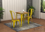 Buy metal furniture at low price from wooden stree