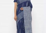 Popular dabu print sarees manufacturer and supplie