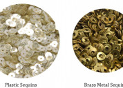 Types of sequins for embroidery & crafts   sequins online