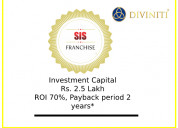 The business of the sis franchise contact diviniti