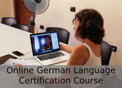 Online german language certification course