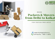 Packers and movers from delhi to kolkata