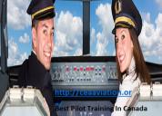 Best pilot training in canada