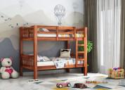 Big sale! shop wooden bunk bed at low price