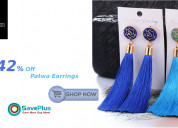 Up to 42% off patwa earrings
