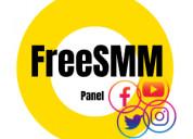 Freesmmpanel panel services
