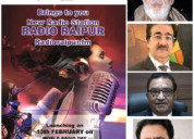 Great grand opening of radio raipur on world radio