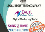 Dtp jobs available in home works