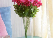 Big sale ! get discount on plastic flowers