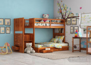 Shop wooden bunk bed at low price from wooden stre
