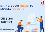 #1 interior painting services in dubai |wall paint