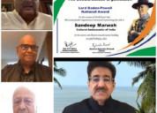 Sandeep marwah nominated cultural ambassador