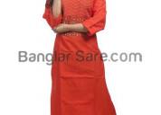 Gift designer kurtis from banglarsare.com