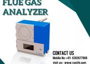 Flue gas analyzer