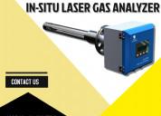 In situ laser gas analyzer