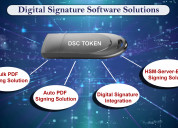 What digital signature solutions does the dsc sign