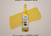 Buy organic sesame oil online at orgpick