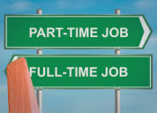 Full time and part time job