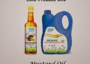 Buy organic mustard oil online