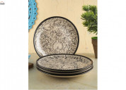 Get extra 20% off on ceramic plates online in indi
