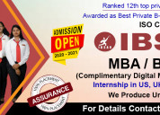 Mba bba bca  institute of business management and