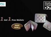 Buy 1 get 1 free wallets