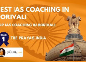 Best ias coaching in borivali for your best prepar