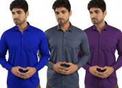 Combo shirts for men   buy combo shirt online   m