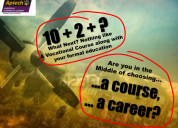 Aviation tourism  and hospitality course at aptech