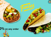 Faasos coupons, deals & offers: save rs. 200 on or