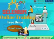 Selenium online training   online it guru