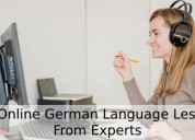 Get online german language lessons from experts