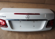 Mercedes benz w207 e200 2014 boot lid