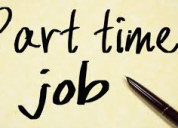 Recruitment of part-time work