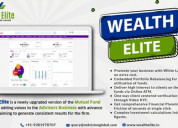Mutual fund software for distributors functions