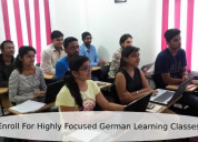 Enroll for highly focused german learning classes