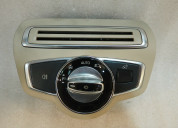 Mercedes w205 c180 2015 headlight panel switch
