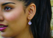 Buy heart shape earrings online in india | ornate