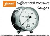 Differential pressure gauges manufacturers in indi