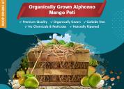 Buy organically grown alphonso mango peti online