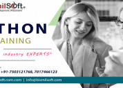 Online python training in india