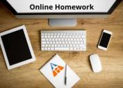 Online homework | assignment home work bank