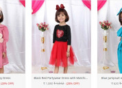 Buy partywear dresses for baby girls online