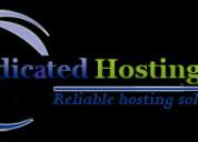 Dedicated hosting for