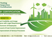 Iso 14001 certification in solan