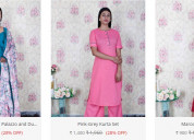 Buy indian ethnic wear for women and girls