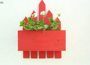 Get ultimate discount on wall pots at woodenstreet