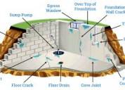 Basement leakage waterproofing services